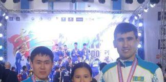 Три бронзы привезли в Шымкент участники Чемпионата Азии по таэквондо ITF