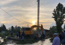 Подтопление села Кызылжар