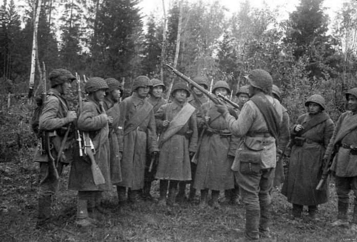 Братский боевой союз народов СССР в войне с фашистами