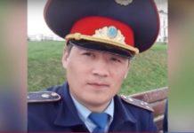 Полицейский Нариман Назаров