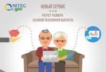 Справку по расчету размера базовой пенсии можно получить через eGov