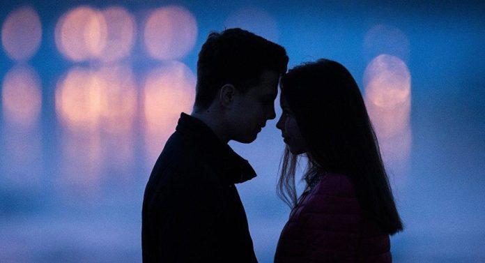 Любовь. Романтика. Парень и девушка
