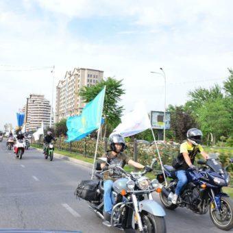 Мотопробег в честь города-миллионника
