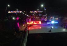 В центре Шымкента ночные гонки обернулись страшным ДТП