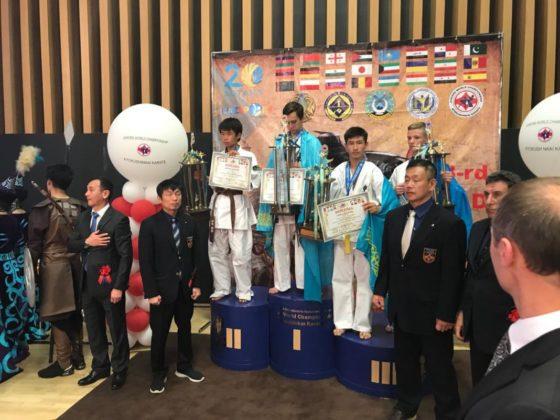 Шесть медалей завоевали шымкентские каратисты Чемпионате мира