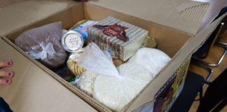 Областной профсоюз раздает малообеспеченным семьям продуктовые наборы
