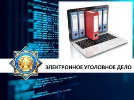 электронные уголовные дела