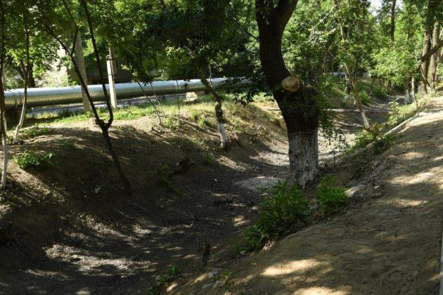На канале Шымкентский