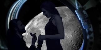 Свадьба на Луне за 125 миллионов евро