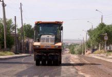 Идет ремонт улицы Сайрамской