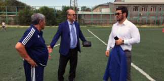 Президент ФК «Ордабасы» Нуржан Катаев ознакомился с работой Футбольного Центра