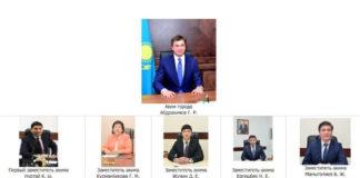 Новая команда акима Шымкента