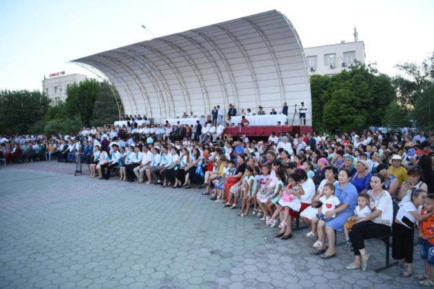 В Туркестане отпраздновали День Астаны
