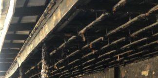 В Аксукенте рано утром сгорело кафе