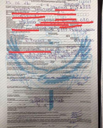 Сотрудник полиции наказан за нарушение правил дорожного движения в Шымкенте