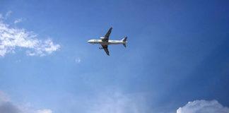 самолет столкнулся с птицами