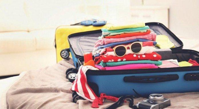 чемодан в отпуск