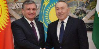 Назарбаев поздравил президента Узбекистана
