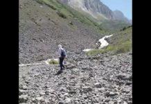Как исчезает горная река Сайрам-Су