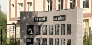 Памятник свинцевикам в Шымкенте