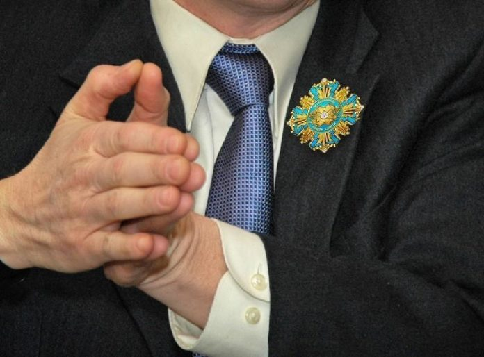 медаль почетного гражданина РК