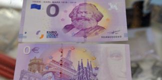 сувенирные купюры евро