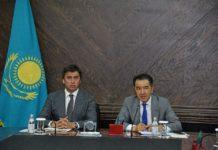 Габидулла Абдрахимов и Бакытжан Сагинтаев