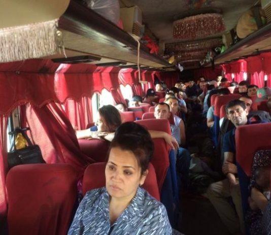 Ситуация с застрявшими на границе РФ и РК автобусами благополучно разрешилась