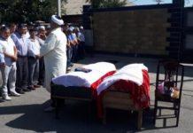 в Шымкенте простились с погибшей в ДТП семьёй