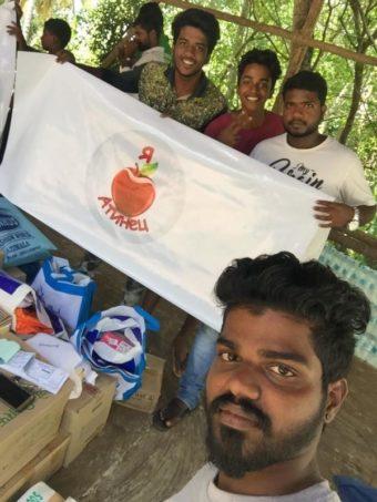 гуманитарную помощь в Индию