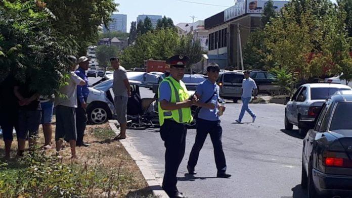 ДТП по ул. Рыскулова 3 августа 2018 года