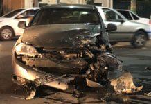 Серьезное ДТП с участием автомобиля и мотоцикла произошло в Шымкенте