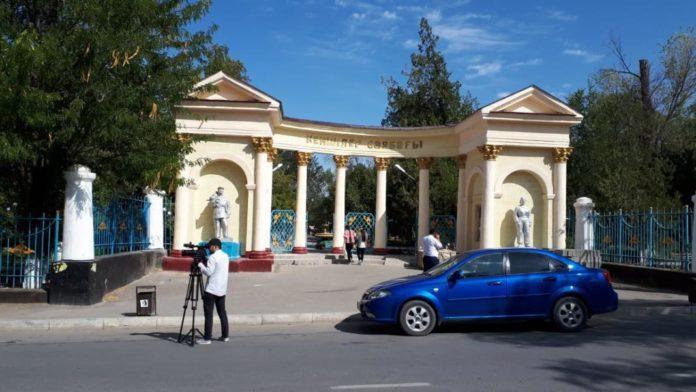 Парк Горняков в Кентау