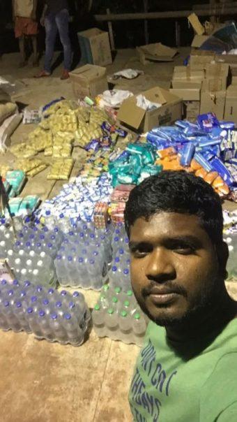 гуманитарную помощь пострадавшим жителям индийского штата Керала