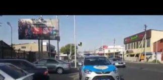 Полицейские в Шымкенте оштрафованы за неправильную парковку