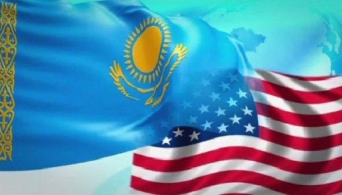 флаг РК и США