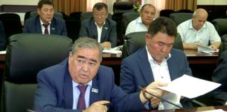 Жамалбек Шарипбек и Жумагали Билисбеков