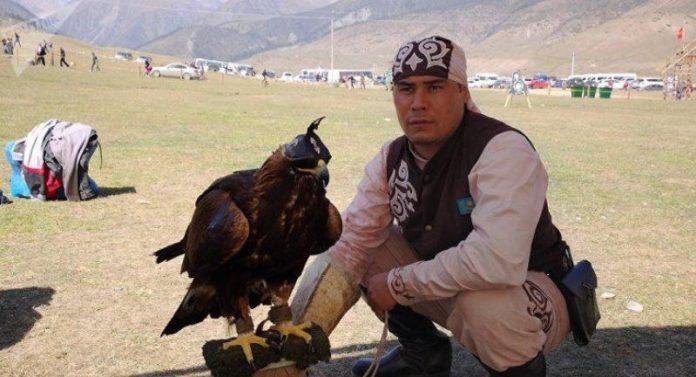 Полет казахстанского беркута