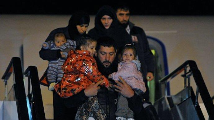 МИД РК ведет работу по возврату казахстанок с детьми из Сирии на родину