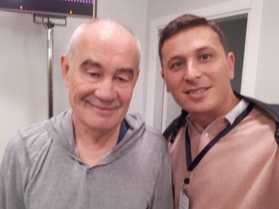 Селфи с Сергеем Бодровым