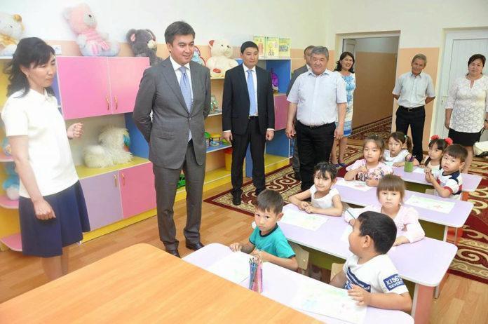 Габидулла Абдрахимов в детском саду