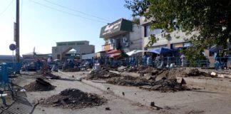 Реконструкция Верхнего рынка Шымкента