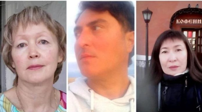 Руза Бейсенбай, Огуз Доган и Жулдызай Форт. Фото: Facebook