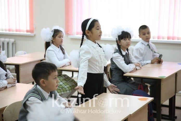 Ученики Шымкента обучаются в три смены