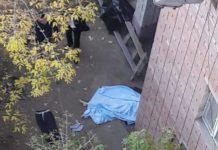 женщина выбросилась из окна