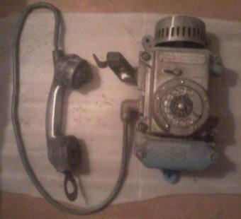 Телефон шахтерский, советских времен