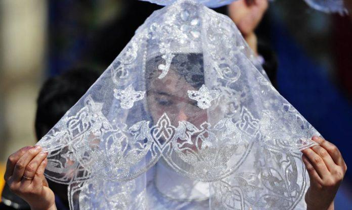 молодая невеста