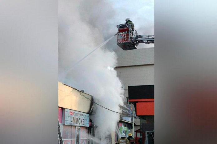 Пожар в супермаркете «Магнум»