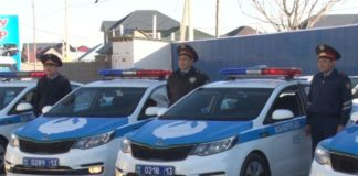 Полиция Туркестанской области