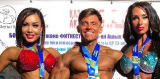 Шымкентцы показали отличный результат на чемпионате страны по бодибилдингу